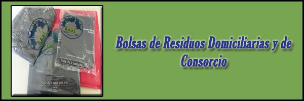 Bolsas de Residuos Domiciliarias y de Consorcio